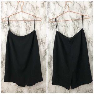 Tahari | Black Knee Length Pencil Career Skirt